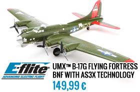 EFlite UMX B17