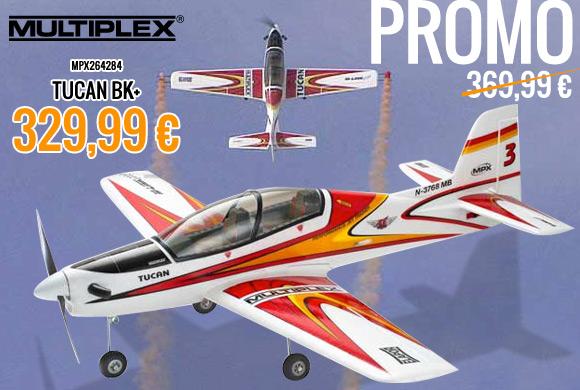 Multiplex Tucan BK+ Promo