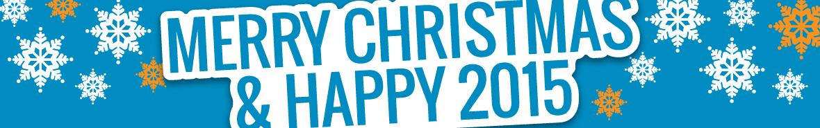 Merry Christmas & Happy 2015