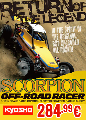Kyosho Scorpion 2014 1/10 Electric Powered R/C 2WD Racing Buggy 284,99 €