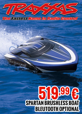 Traxxas Spartan Brushless Boat Bluetooth Optional 519,99€