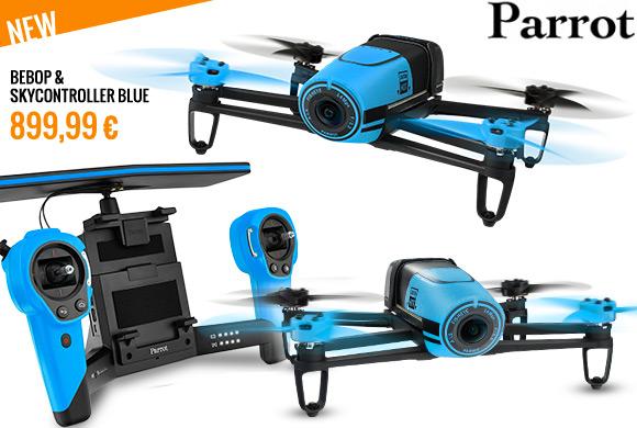 Parrot Bebop & SkyController Blue 899,99 € MCMskyshop