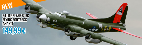 E-flite PLANE B-17G FLYING FORTRESS BNF KIT
