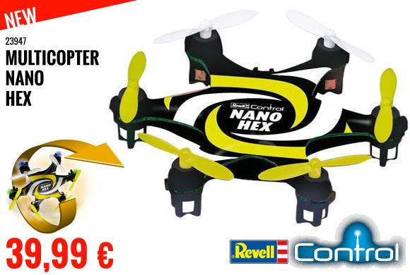 New : 39,99 € Revell multicopter nano hex