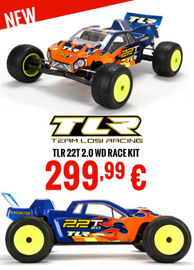 TLR 22T 2.0 WD Race Kit 299,99 €