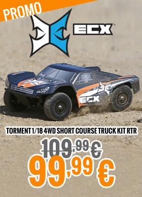 ECX Torment 1/18 4WD Short Course Truck kit RTR 109,99 € > 99,99 €