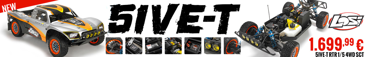 Losi 5ive-T RTR 1/5 4WD SCT 1.699,99 €