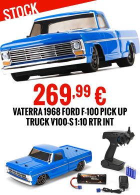 Vaterra 1968 Ford F-100 Pick Up Truck V100-S 1:10 RTR INT 269,99 €