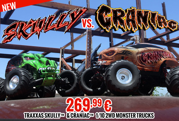 Traxxas Skully & Craniac 1/10th Monster Truck RTR 269,99 €