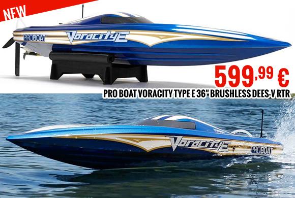 Pro Boat Voracity Type E 36