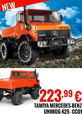 Tamiya Mercedes-Benz Unimog 425 - CC01 223,99 €