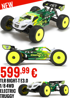 TLR 8ight-T E3.0 1/8 4WD Electric Truggy 599,99 €