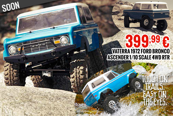 Vaterra 1972 Ford bronco ascender 1/10 scale 4wd rtr 399,99 €