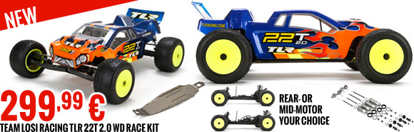 Team Losi Racing 22T 2.0 Race Kit 1/10 2WD Stadium Truck 299,99 €