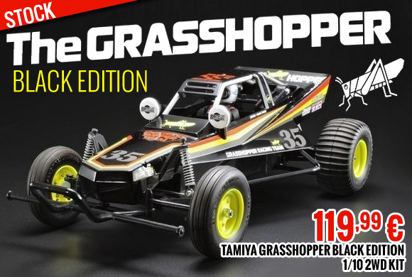 Tamiya Grasshopper Black Edition 1/10 2WD Kit 119,99 €