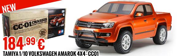 Tamiya 1/10 Volkswagen Amarok 4x4 - CC01 184,99 €