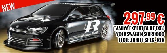 Tamiya Volkswagen Scirocco - TT01ED Drift Spec - RTR 297,99 €