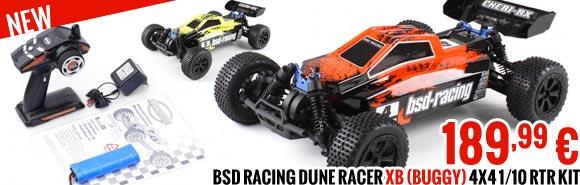 BSD Racing Dune Racer XB (Buggy) 4x4 1/10 RTR Kit BSD220T-OR BSD220T-YE 189,99 €