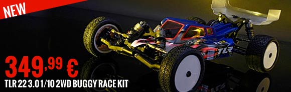New : TLR 22 3.0 1/10 2WD Buggy Race Kit TLR03006 349,99 €