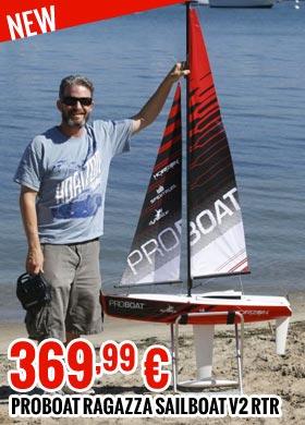 Proboat Ragazza 1 Meter Sailboat V2: RTR 369,99 €