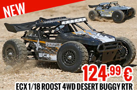 ECX 1/18 Roost 4WD Desert Buggy RTR INT 124,99 €