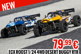 ECX Roost 1/24 4WD Desert Buggy RTR 79,99 €