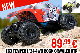 ECX Temper 1/24 4WD Rock Crawler RTR 89,99 €