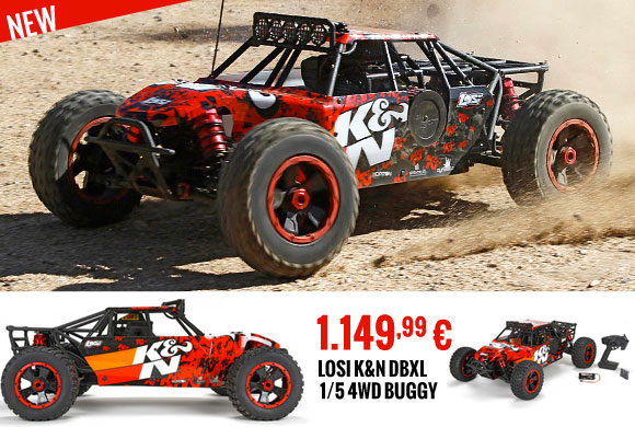 Losi K&N DBXL 1/5 4WD Buggy RTR 1.149,99 €