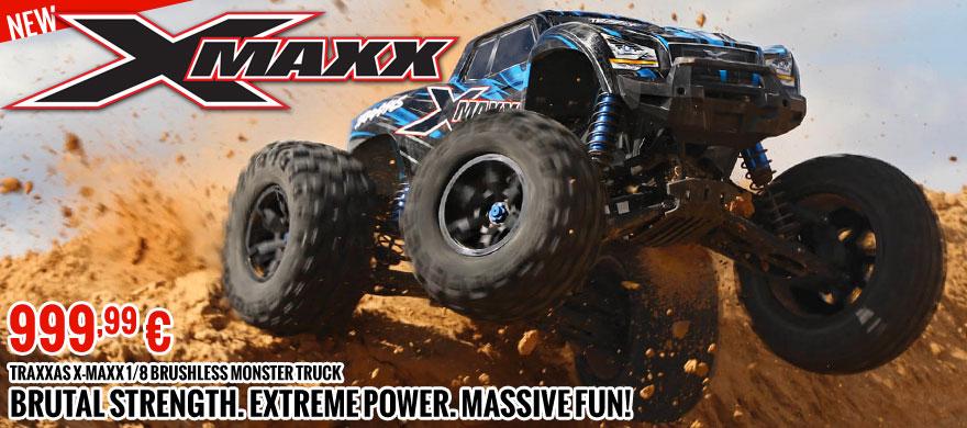 Traxxas X-Maxx 1/8 Brushless Monster Truck 999,99 €