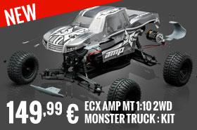 ECX AMP MT 1:10 2WD Monster Truck : Kit 149,99 €