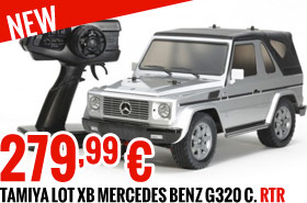 Tamiya Lot XB Mercedes Benz G320 C 279,99 €