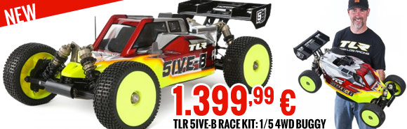 TLR 5IVE-B Race Kit: 1/5 4WD Buggy 1399,99 €
