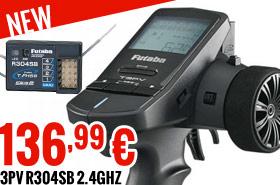 Futaba PV R304SB 2.4GHz 136,99 €