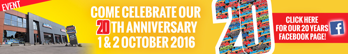 Come celebrate our 20th anniversary / 1 & 2 October 2016
