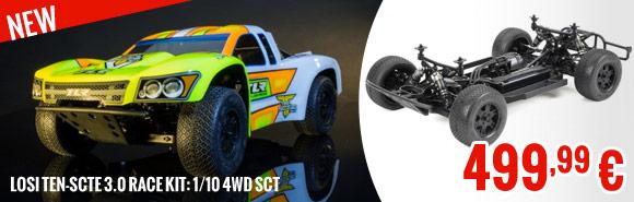 Losi TEN-SCTE 3.0 Race Kit: 1/10 4WD SCT 499,99 €