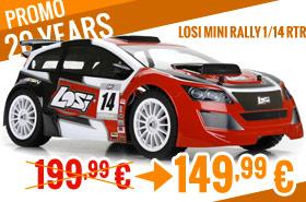 Losi Mini Rally 1/14 RTR 199,99 € > 149,99 €