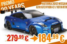 Vaterra 2012 Nissan GTR GT3 V100-C 1/10th RTR 279,99 € > 184,99 €