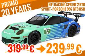 HPI Racing Sprint 2 RTR Sport - Porsche 997 GT3 RSR 319,99 € > 239,99 €