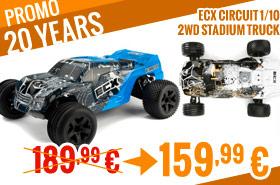 ECX Circuit 1/10 2WD Stadium Truck 189,99 € > 159,99 €