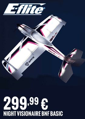 E-flite NIGHT VisionAire BNF Basic 299,99 €