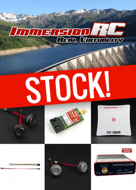 Stock. Immersion RC