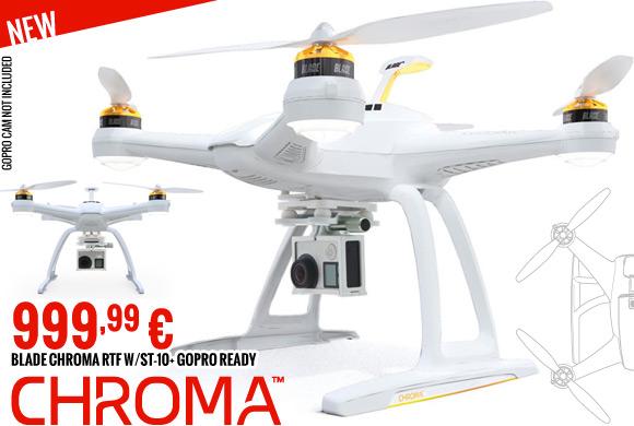 Blade Chroma RTF w/ST-10+ 999,99 €