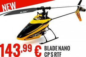 New : Blade Nano CP S RTF BLH2400 143,99 €
