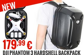 DJI Phantom 3 Hardshell Backpack (Part 50) 179,99 €