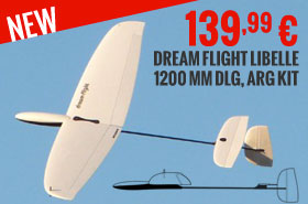 Dream Flight Libelle 1200 mm DLG, ARG kit 139,99 €