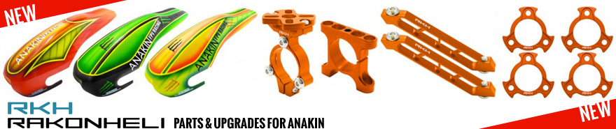 Rakonheli Parts & upgrades for Anakin