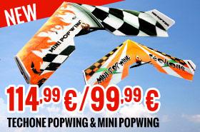 TechOne Popwing & Mini Popwing 114,99 €/99,99 €