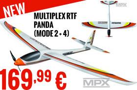Multiplex RTF Panda (mode 2 + 4) 169,99 €
