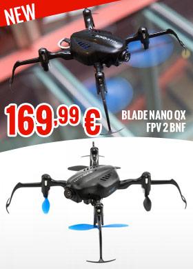 Blade Nano QX FPV 2 BNF 169,99 €