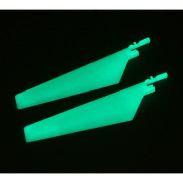DISC.. Pales inférieures (1paire) brillant dans le noir: BMCX